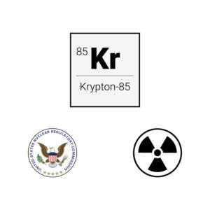 Kr-85 Safety Warning
